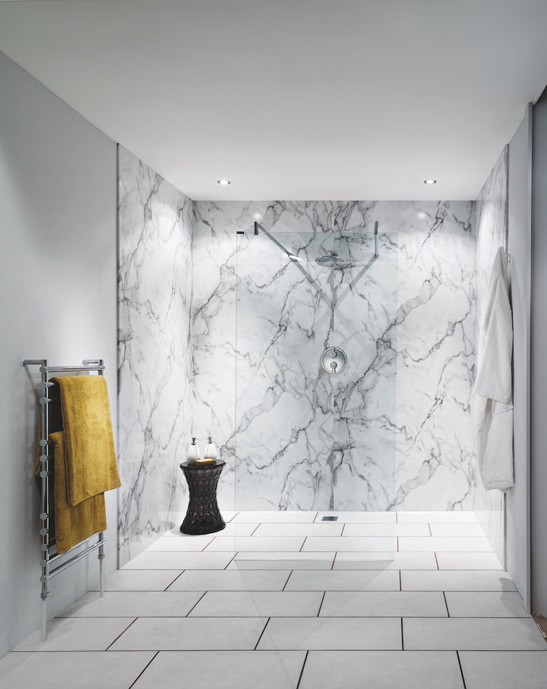 * PAID FOR Bushboard set to change perception of bathroom wall panellingBushboard's Nuance Calacatta Marble LS hi res.jpg